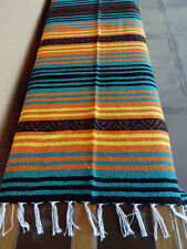 Peyote Serape Blanket ONWPT-9 Southwest Southwestern Mexican Afghan