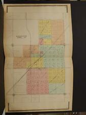 Illinois, Ford County Map, Gibson City,  1901  Double Page  J3#43