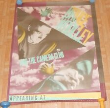 Bruce Wooley and the Camera Club 1980 Promo Tour Poster Thomas Dolby 30x38