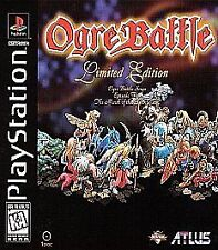***OGRE BATTLE PS1 PLAYSTATION 1 DISC ONLY~~~