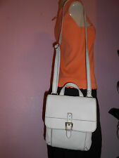 NEW WT $ 138.00 FOSSIL WOMAN  SHOULDER BAG TATE SMALL FLAP LEATHER COLOR BONE