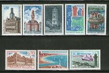 TIMBRES 1499-1506 NEUF XX LUXE - SERIE TOURISTIQUE