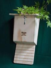 2 Casette antizanzare per pipistrelli Bat Box, Bat House Blitzen ispezionabili.