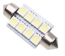 ✔ UK 42mm 8 SMD 5050 LED Car Interior Exterior Dome Festoon Bulb Light 12V White