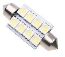 ✔ Reino Unido 42mm 8 Smd 5050 LED coche Interior Exterior Domo Festoon bombilla luz 12v Blanco