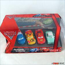 Disney Pixar Cars 2 Racing 4 Pack McQueen Camino Denise Raoul Caroule Target set