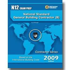 N12 National Standard  General Building Contractor Exam Questions Workbook ICC