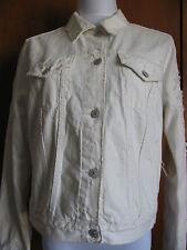Denim &Supply women cream jean jacket size Small Medium Large Xlarge NWT