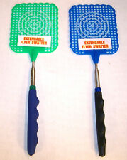 4 EXPANDING FLY SWATTER bug mosquito killer telescope insect extend flies new