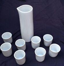 New listing Vintage 1970s Vessel Fusionware Liquid Serving Set Sake Tea Comakazi Shot Glass