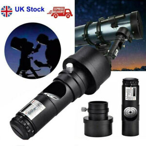 """1.25"""" Red Laser Collimator with 2"""" Adaptor 7 Brightness Levels For Telescope"""