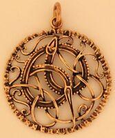 Lokis Midgardschlange Anhänger Bronze Gothic Schmuck - NEU