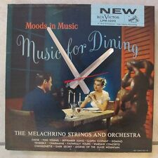 MUSIC FOR DINING- ALBUM CLOCK!***MAKES A GREAT GIFT!**FREE SHIPPING!