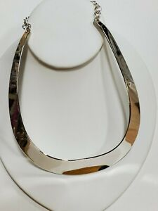 Robert Lee Morris Necklace $45 Silver Tone New Over Stock With Tags