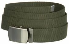 Big and Tall Canvas Military Web Belt - Casual Sports Tactical Belt for Men