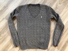 Polo Ralph Lauren Damen Strick Pullover grau Gr. L TOP Zsutand