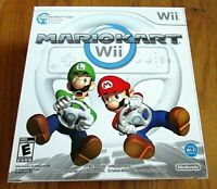 Nintendo Mario Kart Wii Wheel Box NO WHEEL INCLUDED