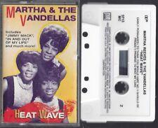 MARTHA & The VANDELLAS / HEAT WAVE - Cassette (1986)