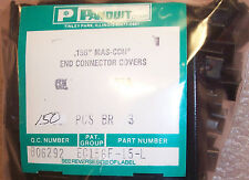 QTY (50) EC156F-15-L PANDUIT MAS-CON 15 POSITION END COVERS 3.96mm MTA-156 IDC