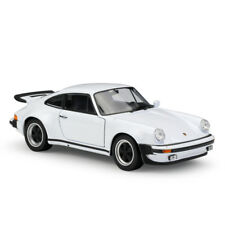 Welly 1:24 1974 Porsche 911 Turbo 3.0 White Diecast Model Sports Racing Car NIB