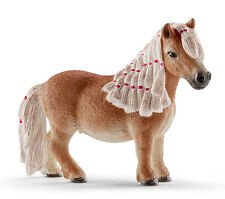 Schleich 13776 Miniature Shetland Pony Mare Model Horse Shetty Toy - NIP