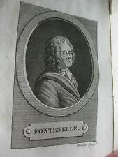 1818 Entretiens sur la pluralité des mondes De Fontenelle Astronomie