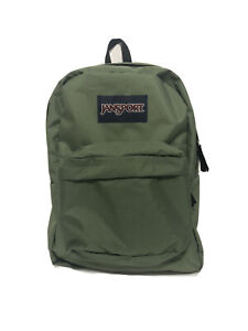 JanSport SuperBreak Backpack Muted Green [JS00T5010HC] NWT