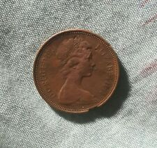 1971 EXTREMELY RARE GENUINE! QUEEN ELIZABETH 11 NEW PENCE 2P!