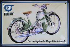 NSU - QUICKLY BLECHSCHILD, Das meistgekaufte Moped Deutschlands