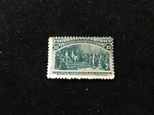 Stamps Collection Scott 238 15c Columbian Mint Nh with glue problem
