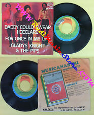 LP 45 7'' GLADYS KNIGHT & THE PIPS Daddy could swear i declare For no cd mc dvd