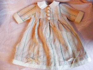 Götz Principessa Kleid mit Etikett hinten Götz Principessa Puppenkleid
