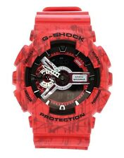 Imported Casio G-Shock, GA110SL, Red Rubber Sports Watch For Men