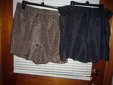 Nos~ 2 Pr. Vintage Big Yanks Silk Boxers~ Underwear~Sz. Med.