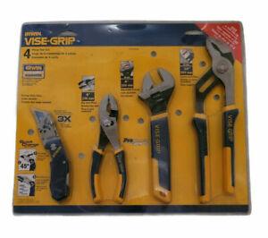 Vise GripTools Tool Hand Set Pliers Irwin Channel Lock Adjustable Knife