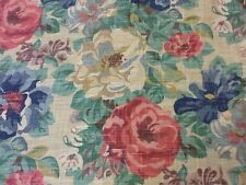 Sanderson Midsummer Rose In Antique Rose Curtain Fabric By The Metre