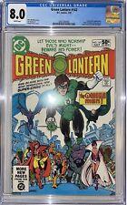 Green Lantern #142 CGC 8.0 Early Omega Men Appearance 1981
