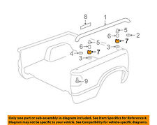 Chevrolet GM OEM 02-04 S10 Pick Up Box Bed-Support 88979862