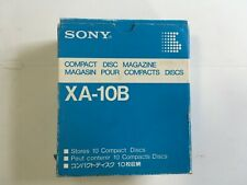 Sony XA-10B Compact Disk Magazine Changer Cartridge