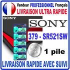 Pile 379-SR521SW AG0 1.55V SONY Pile bouton QUALITÉ PREMIUM SONY MADE IN JAPAN