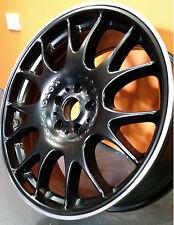 "BBS MOTORSPORT REPLICA BLACK 19"" FOR VW GOLF JETTA AUDI A4 A3 MERCEDES C CLASS"