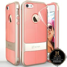 Luxury Slim Dual Layer Hybrid TPU Shockproof Armor Case Cover for iPhone 5S 5 SE