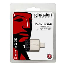 Kingston MobileLite G4 USB 3.0  SD SDHC SDXC Micro SD Multi Card Reader-UK