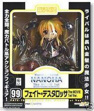 New Nendoroid 99 Magic Girl Lyrical Nanoha Fate Testarossa Good Smile PAINTED