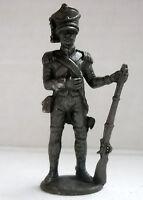 Metallfiguren Soldatini Kinder Napoleonico 3 Bruniert