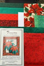 "Poinsettia 23""x26"" Wallhanging Quilt Kit By Eileen B Sullivan"