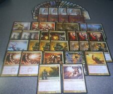 MTG Magic BOROS DECK Scent of Cinder Jasmine Firemane Angel Agros Kos Stoutarm