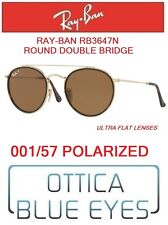 4a1ad5ec23 Occhiali da Sole RAYBAN RB3647N 001 57 ROUND DOUBLE BRIDGE Sunglasses Ray  Ban