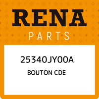 25340JY00A Renault Bouton cde 25340JY00A, New Genuine OEM Part