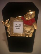 Disney Winnie the Pooh and Piglet Best Friends Photo Frame Pin 69099 Vhtf